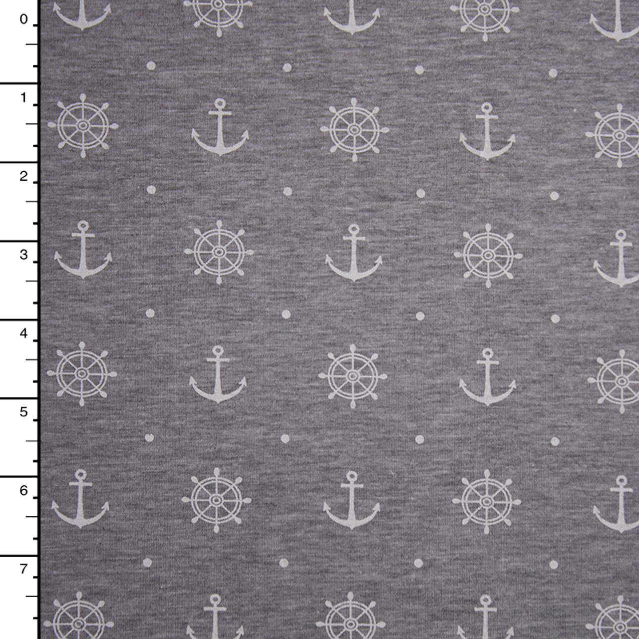 3d29db46 Cali fabrics heather grey anchors and wheels print stretch jersey knit jpg  800x800 Print stretch