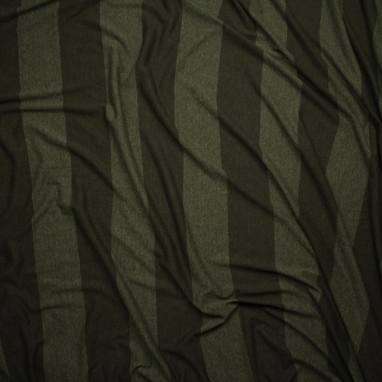 4621ce8d75d ... Olive Wide Stripe Lightweight Jersey Knit Fabric By The Yard - Wide shot