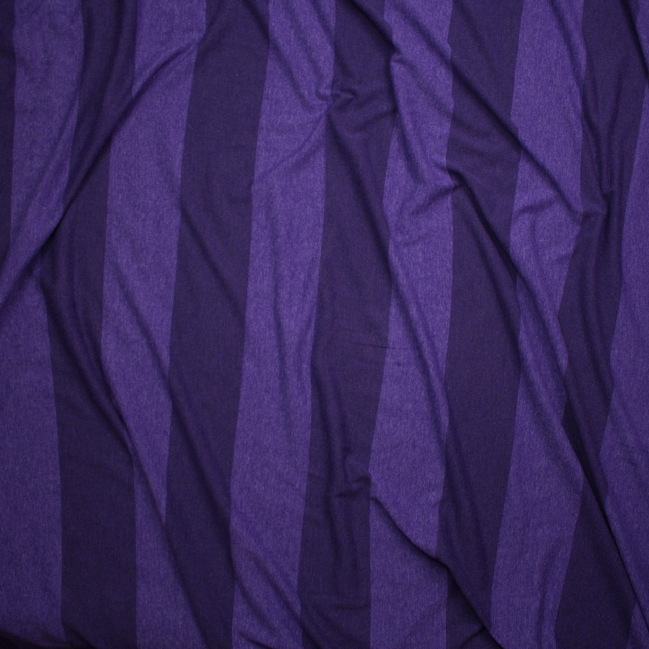 c730b41d1a6 ... Purple Wide Stripe Lightweight Jersey Knit Fabric By The Yard - Wide  shot
