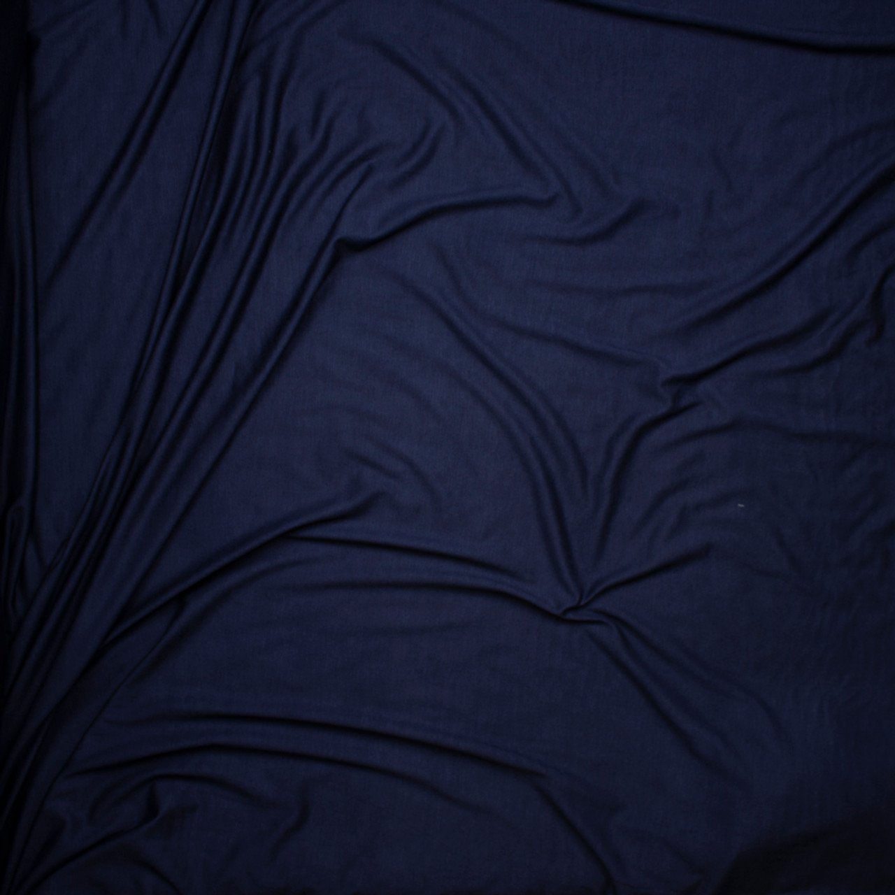 EM-4087MA-Navy-M Viscose Jersey Knit Fabric