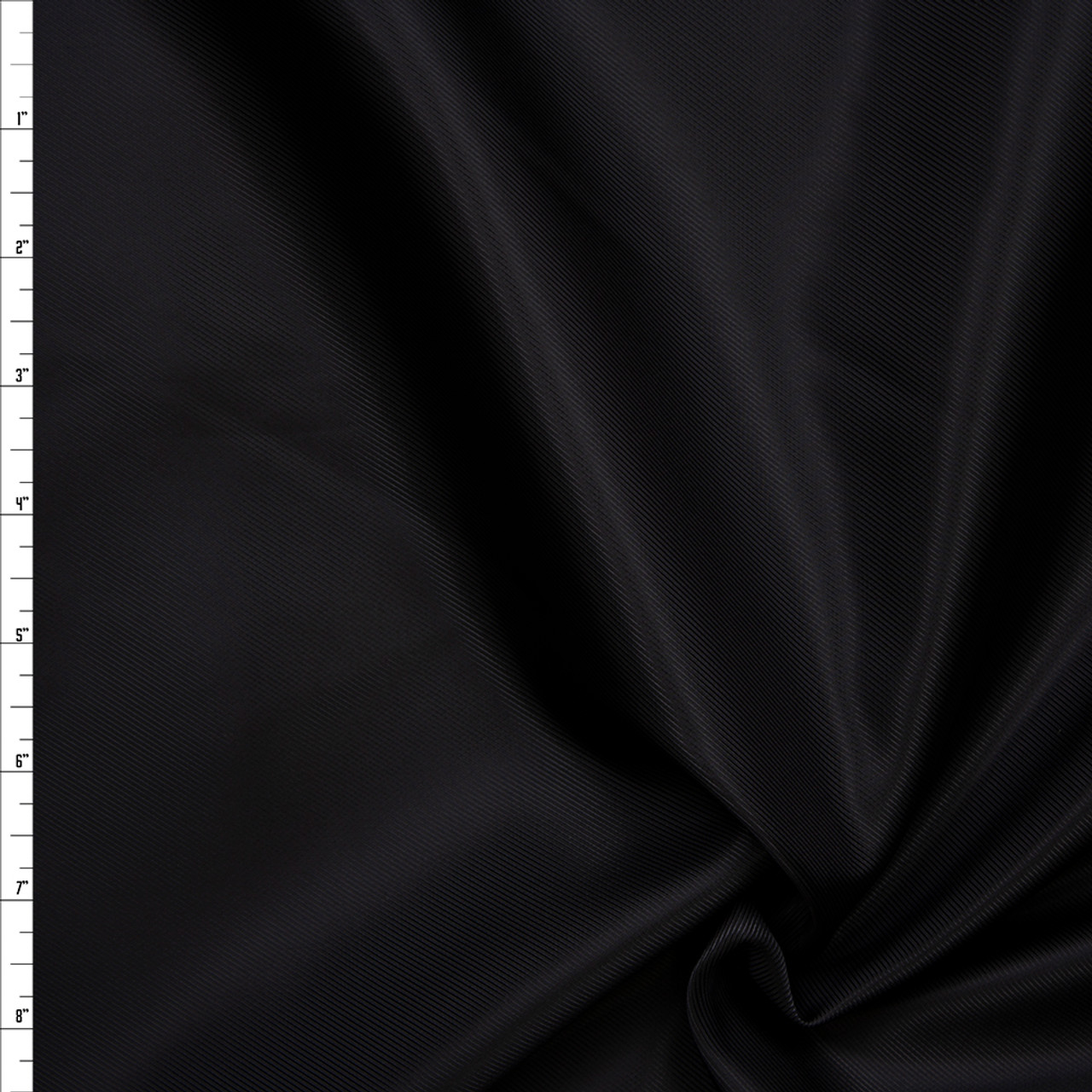 "POLYESTER LINING FABRIC BLACK 60/"" WIDE BY THE YARD"