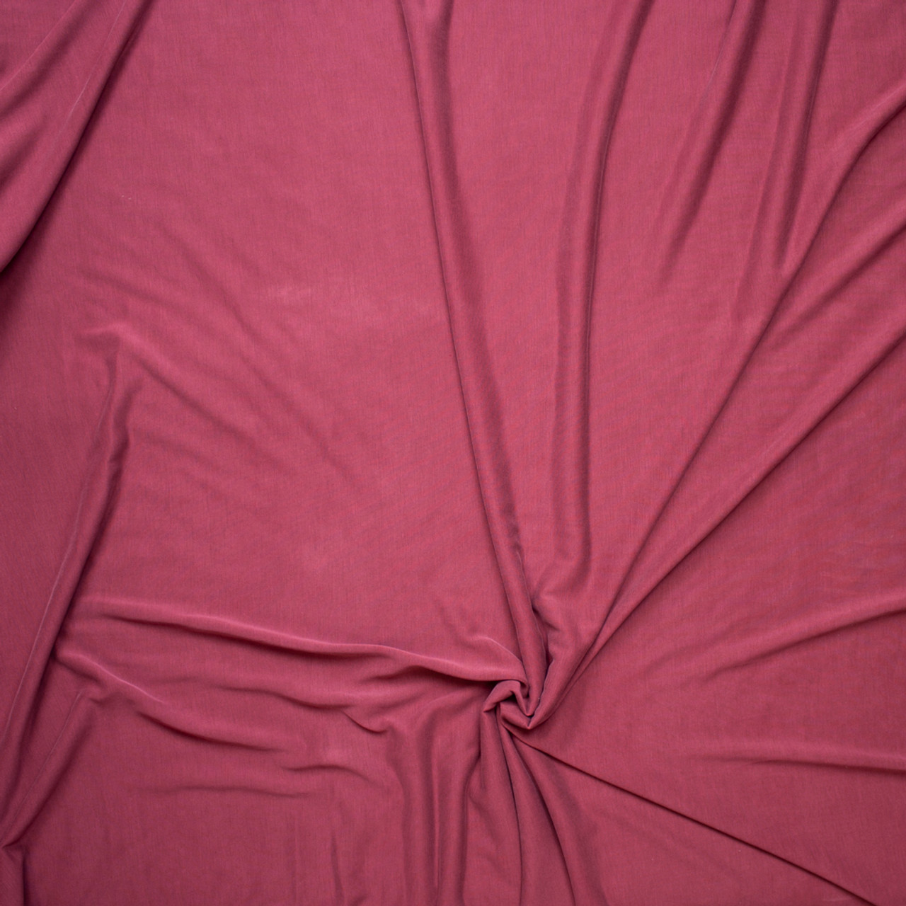 31c29c6216d ... Cranberry Brushed Poly/Modal Jersey Knit Fabric By The Yard - Wide shot