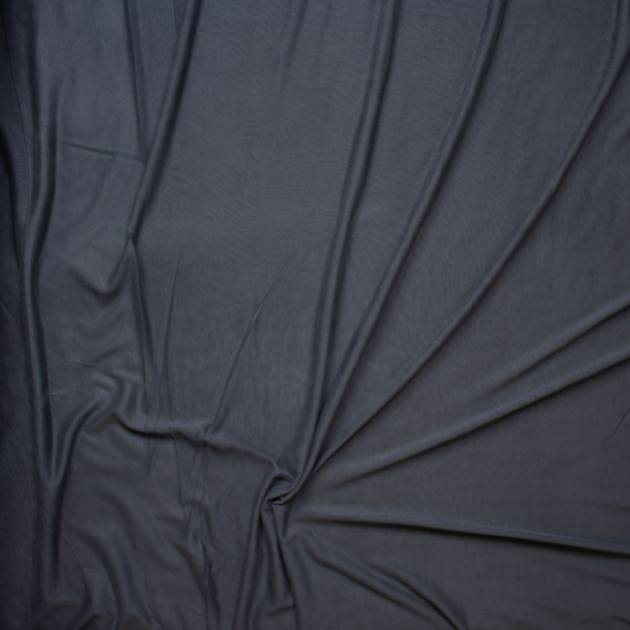 d4a2b05649c ... Charcoal Brushed Poly/Modal Jersey Knit Fabric By The Yard - Wide shot