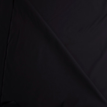 Black Stretch Cotton Poplin Fabric By The Yard - Wide shot