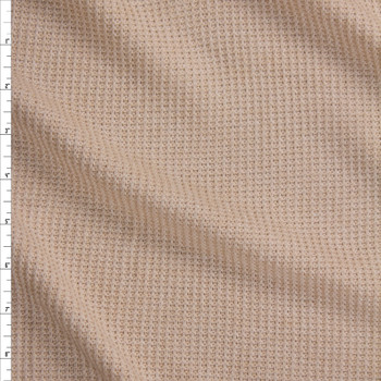 Ivory Midweight Loose Weave Sweater Knit Fabric By The Yard