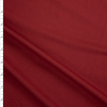 Brick Red Brushed Tactel Midweight Athletic Knit Fabric By The Yard