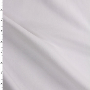 White Heavyweight Micro Ribbing Fabric By The Yard