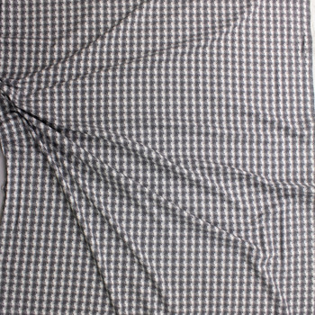 Madmoiselle Plaid Cotton/Spandex Knit From 'Art Gallery Fabrics' Fabric By The Yard - Wide shot