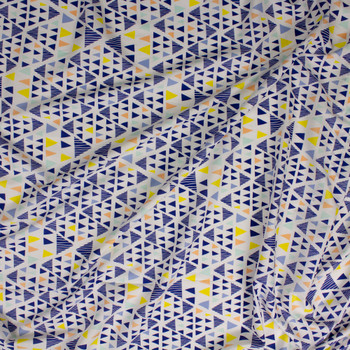 Mojave Illuminated Cotton Voile From 'Art Gallery Fabrics' Fabric By The Yard - Wide shot