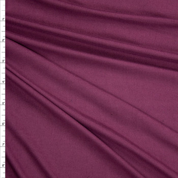 Petit Sirah Solid Double Brushed Poly/Spandex Fabric By The Yard
