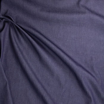 Indigo #18 Midweight Designer Denim from 'True Religion' Fabric By The Yard - Wide shot