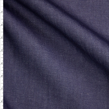 Indigo #18 Midweight Designer Denim from 'True Religion' Fabric By The Yard