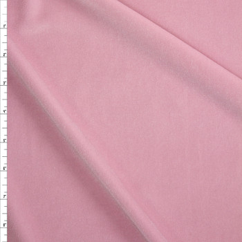 Baby Pink 4-way Stretch Velvet Fabric By The Yard