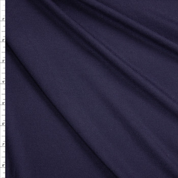 Navy Lightweight Bamboo French Terry Fabric By The Yard