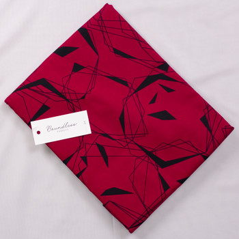 Boundless Foil Red (3y Bargain Cut) Fabric By The Yard