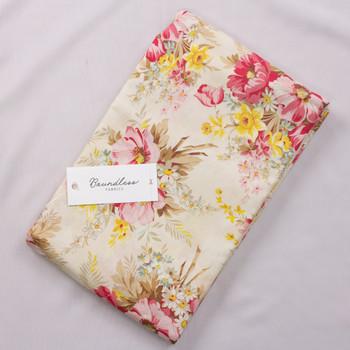 Boundless CH Main Floral Cream (4y Bargain Cut) Fabric By The Yard