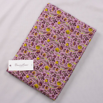 Boundless Garden Orchid (4y Bargain Cut) Fabric By The Yard