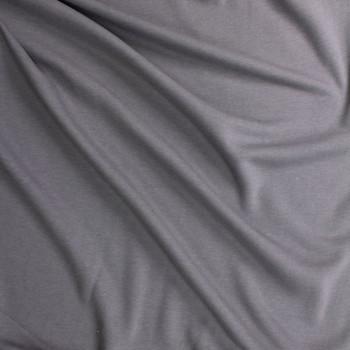 Medium Grey Midweight Extra Wide Poly Sweatshirt Fleece Fabric By The Yard - Wide shot