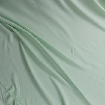 Mint Green Midweight Extra Wide Poly Sweatshirt Fleece Fabric By The Yard - Wide shot