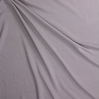 Light Grey Midweight Extra Wide Poly Sweatshirt Fleece Fabric By The Yard - Wide shot