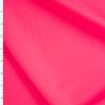 Neon Pink Stretch Twill Suiting Fabric By The Yard