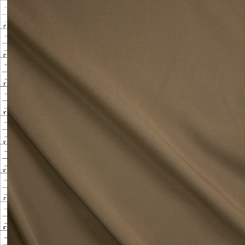 Taupe Stretch Poly Lining Fabric By The Yard