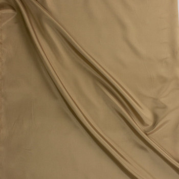 Tan Acetate Lining Fabric By The Yard - Wide shot