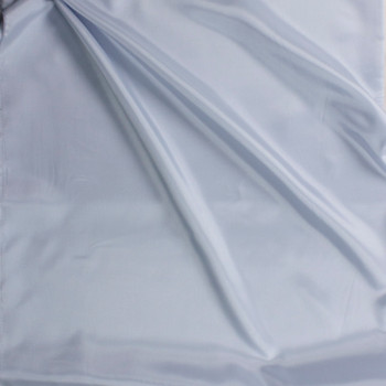 Pale Blue Acetate Lining Fabric By The Yard - Wide shot