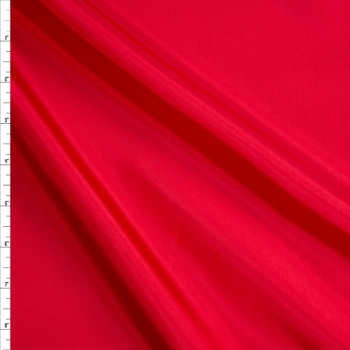 Red Acetate Lining Fabric By The Yard