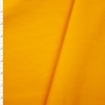 Goldenrod Poly/Cotton Midweight Twill Fabric By The Yard