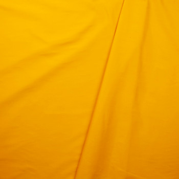 Goldenrod Poly/Cotton Midweight Twill Fabric By The Yard - Wide shot
