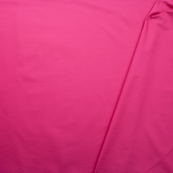Hot Pink Poly/Cotton Midweight Twill Fabric By The Yard - Wide shot