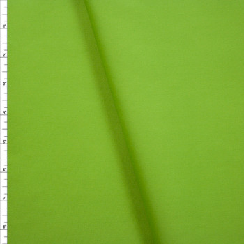 Lime Green Poly/Cotton Midweight Twill Fabric By The Yard