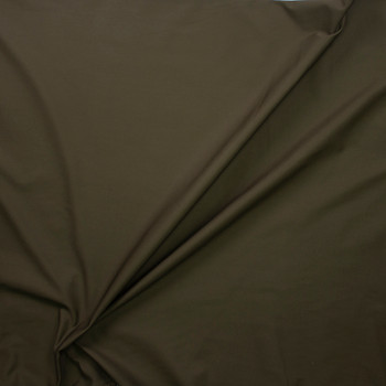Olive Poly/Cotton Midweight Twill Fabric By The Yard - Wide shot