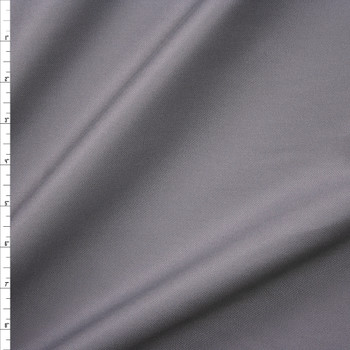 Grey Cotton Twill Fabric By The Yard