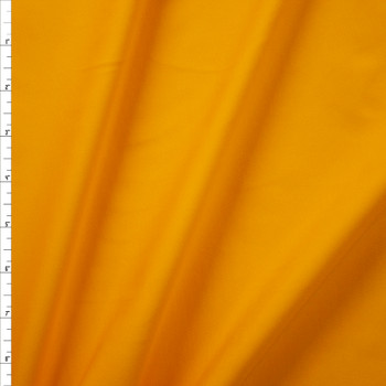 Goldenrod Midweight Stretch Athletic Knit Fabric By The Yard