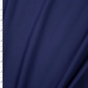 Navy Midweight Stretch Athletic Knit Fabric By The Yard