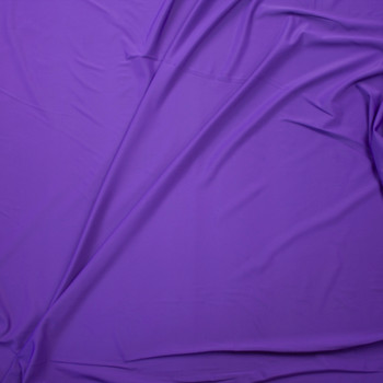 Purple Designer Midweight Nylon/Spandex Fabric By The Yard - Wide shot