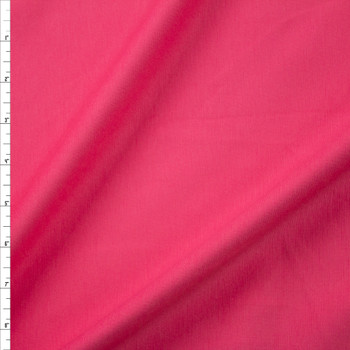 Bubblegum Pink Designer Midweight Stretch Ponte Fabric By The Yard
