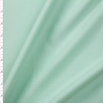 Mint Designer Midweight Stretch Ponte Fabric By The Yard
