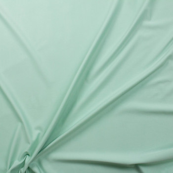 Mint Designer Midweight Stretch Ponte Fabric By The Yard - Wide shot