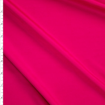 Hot Pink Designer Scuba Solid Fabric By The Yard