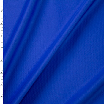 Bright Blue Designer Scuba Solid Fabric By The Yard