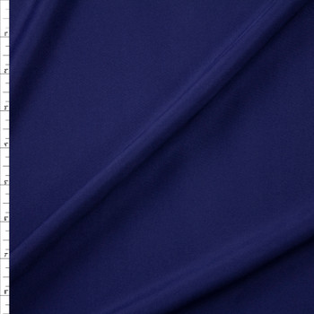 Navy Blue Designer Scuba Solid Fabric By The Yard
