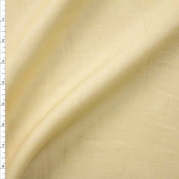 Tan Designer Linen Fabric By The Yard