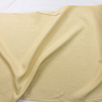 Tan Designer Linen Fabric By The Yard - Wide shot
