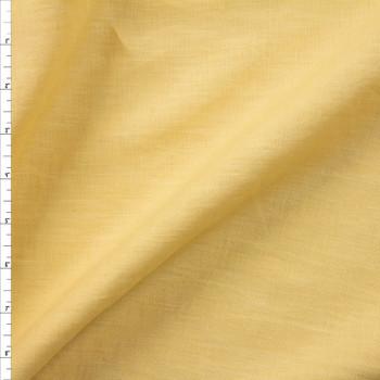Light Yellow Designer Linen Fabric By The Yard