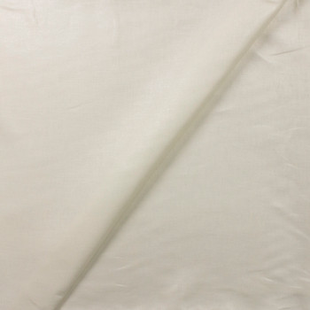 Sparkling Offwhite Designer Linen Fabric By The Yard - Wide shot
