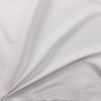 Optic White Designer Linen Fabric By The Yard - Wide shot