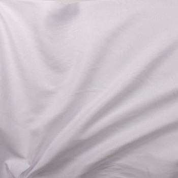 Bright White Designer Linen Fabric By The Yard - Wide shot